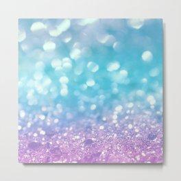 Summer Mermaid Girls Glitter #2 #shiny #decor #art #society6 Metal Print