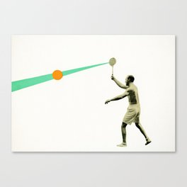 Serve Canvas Print