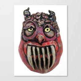 Guardian Monster Canvas Print