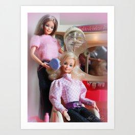 Barbie Estrela Brazil 80's Art Print