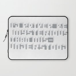 Rather Be Mysterious... Laptop Sleeve