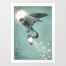 Nighthawk  Art Print