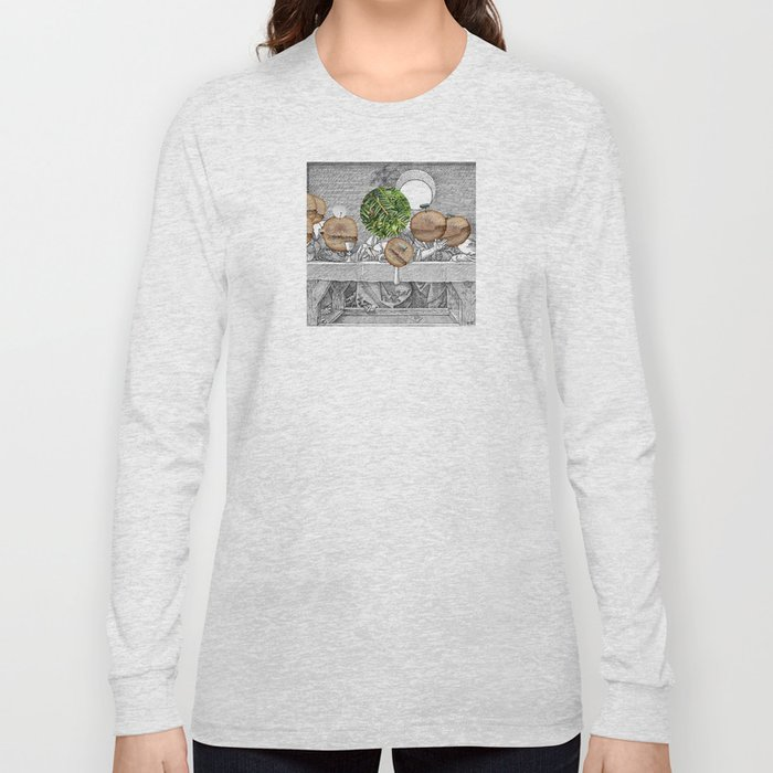Duerer Last Communion Collage Long Sleeve T-shirt