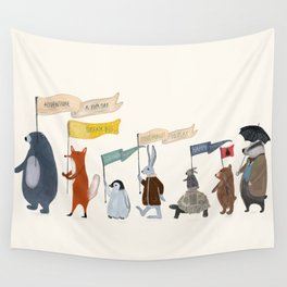 adventure and explore Wall Tapestry