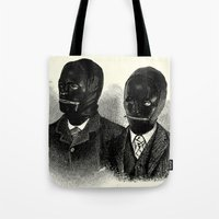 bdsm Tote Bags featuring BDSM  by DIVIDUS