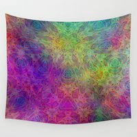 christ Wall Tapestries featuring Christ by RingWaveArt