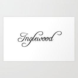 Inglewood Art Print