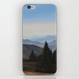 Grassy Ridge Bald, NC iPhone Skin