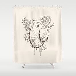 Find the key to my heart (chocolate) Shower Curtain