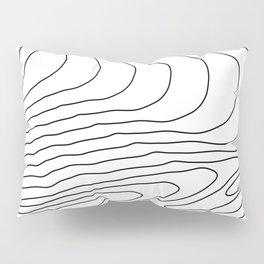 Topographic Line Pattern #440 Pillow Sham