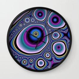abstract cirles Wall Clock