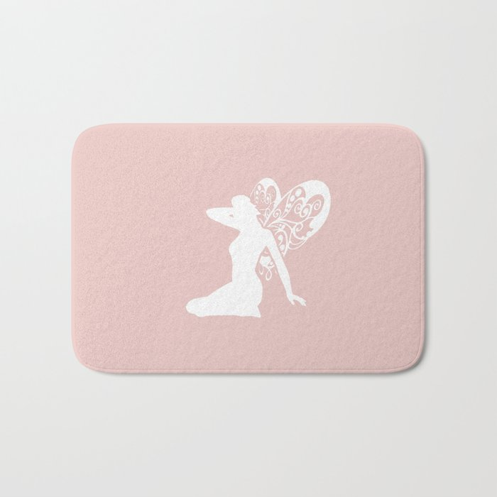 Fairy: Pink Bath Mat