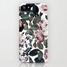 Vintage garden iPhone SE Slim Case