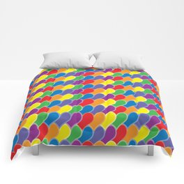 Pride Heart Scale Pattern Comforters