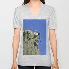 Saguaro Macro Unisex V-Neck