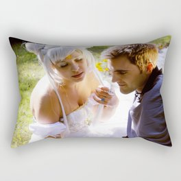 Sailor Moon - Princess Serenity and Prince Endymion  Rectangular Pillow