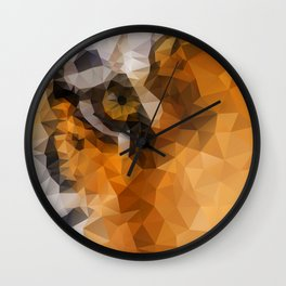 Burning Bright! Wall Clock