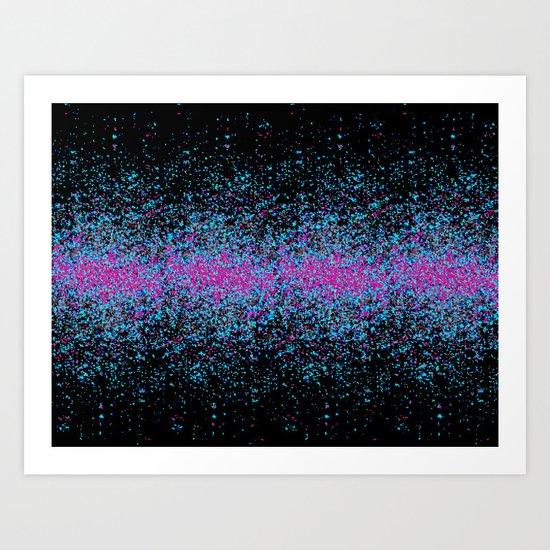infinite reflections Art Print