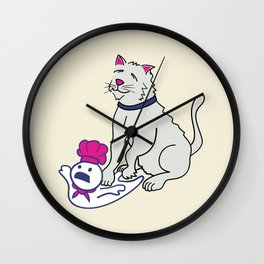 Making Biscuits Wall Clock