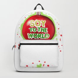 Soy to the World Backpack