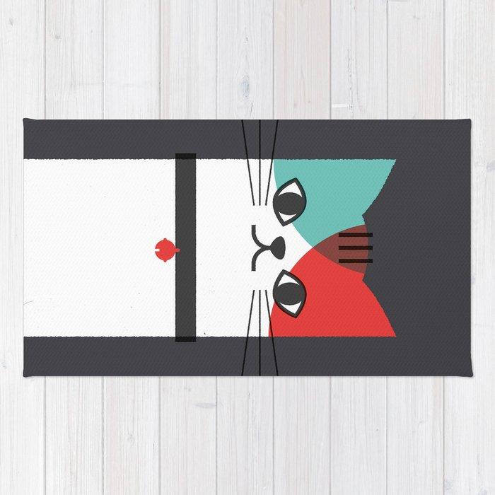 A Cat! Rug