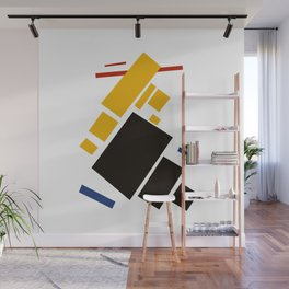 Geometric Abstract Malevic #11 Wall Mural