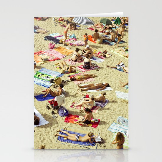 Beach pattern Stationery Cards