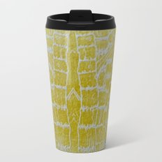Yellow Sugarcane Metal Travel Mug
