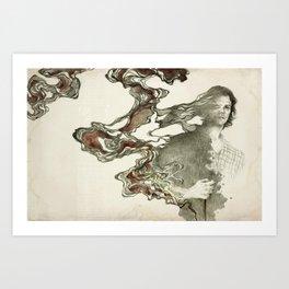 The third trial Art Print