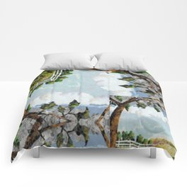 Country Road Pattern Comforters