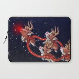 Santa's Backups Laptop Sleeve