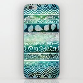 Dreamy Tribal Part VIII iPhone Skin