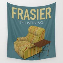 Frasier TV Series Poster  Wall Tapestry