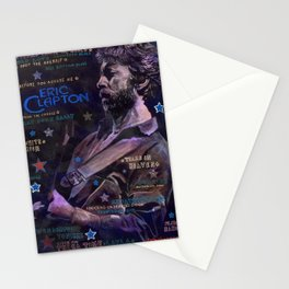 Eric Clapton Stationery Cards