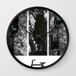 cycle to the city Wall Clock