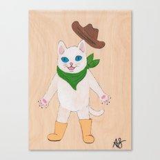 Woah! Kitty Canvas Print