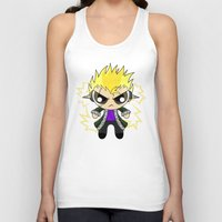 powerpuff girls Tank Tops featuring PowerPuff Laxus by ZombieGirl