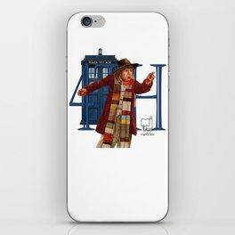 4th Doctor iPhone Skin