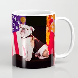 Bulldog Navy Official Mascot Dog Coffee Mug