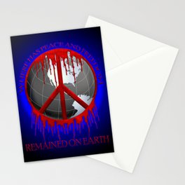 Peace and Freedom Stationery Cards