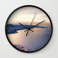 rio Wall Clocks featuring Rio by Art That's Alive