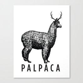 the palpaca Canvas Print