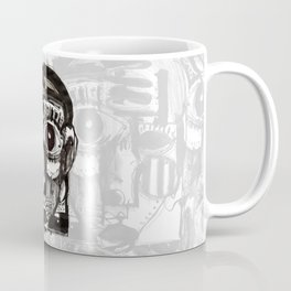 Reflection - b&w Coffee Mug