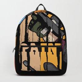Paintball Retro Vintage Marker Gotcha Gift Backpack