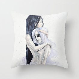 Internal consolation Throw Pillow