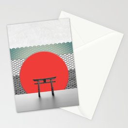 The Red Sun Stationery Cards