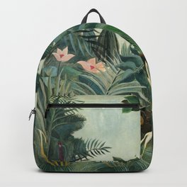The Equatorial Jungle (1909) by Henri Rousseau Backpack