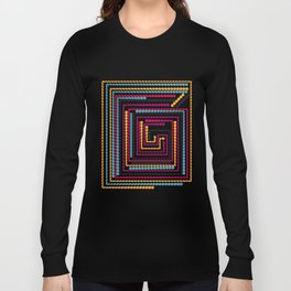Bead maze Long Sleeve T-shirt