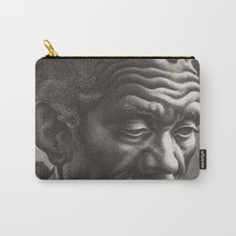 Classical Masterpiece 'Aaron' by Thomas Hart Benton Carry-All Pouch