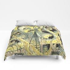 Steamechanical Octopus Comforters